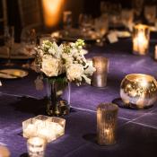 Purple Linens for Wedding