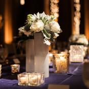 Purple Wedding Linens
