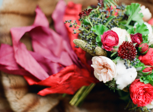Red and Garnet Bouquet