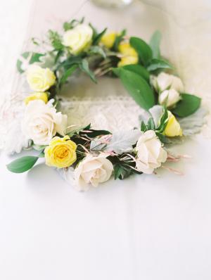 Rose Garland Wreath
