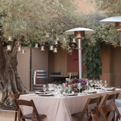 Rustic Elegant Wedding Reception