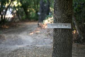 Rustic Wood Wedding Signs