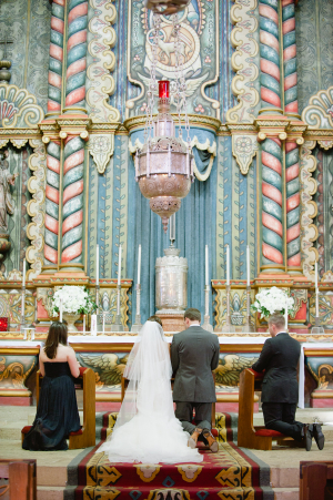 Santa Barbara Catholic Church Ceremony