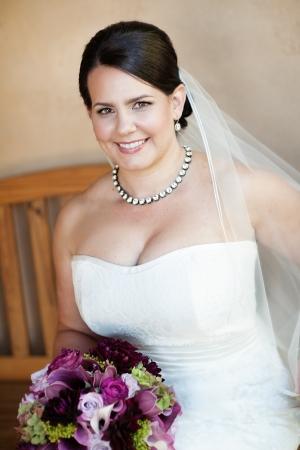Strapless Amy Kuschel Gown