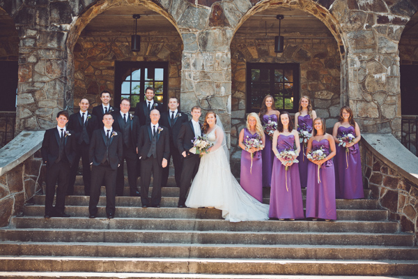 Strapless Lavender Bridesmaids Dresses