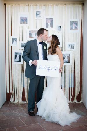 Streamer Wedding Backdrop