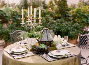 Succulent Table Decor Wedding Inspiration