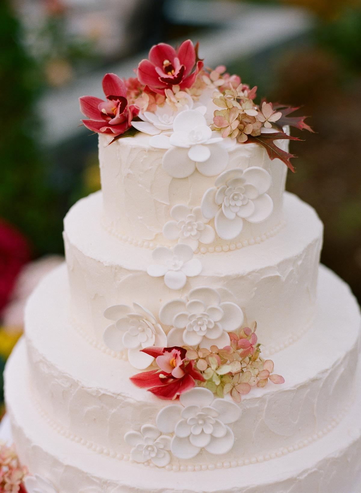 Sugar Flower Wedding Cake Elizabeth Anne Designs The
