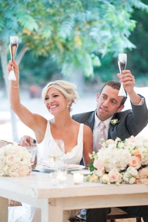 Sweetheart Table at Wedding