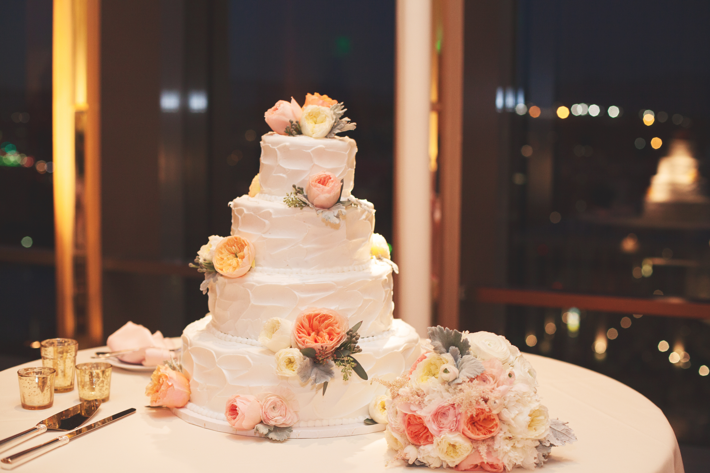 Textured Buttercream Wedding Cake Elizabeth Anne Designs