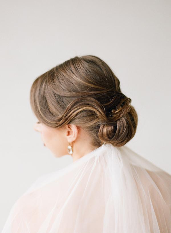 veil at nape of neck - elizabeth anne designs: the wedding blog, Cephalic Vein