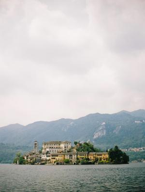 View of Lake Orta