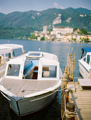 Vintage Boat in Italy