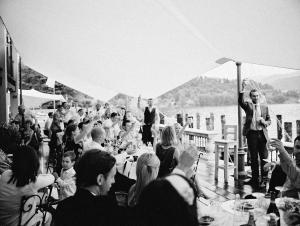 Waterside Reception in Italy