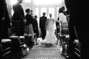 Wedding Ceremony at Brooklyn Boathouse