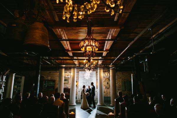 Wedding Ceremony at Salvage One