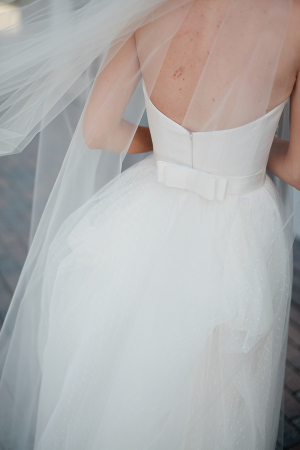 Wedding Dress with Bow