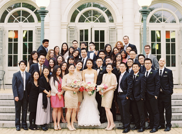 Wedding Guest Group Picture