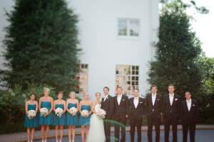 Wedding Party Ampersand Photography