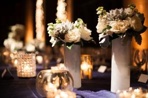 White Flowers in White Vases