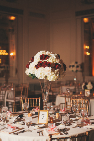 White Red Gold Reception