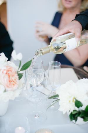 Wine at Reception