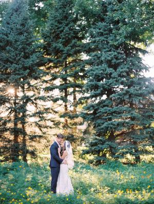 Woodsy Wedding Portrait Clary Photo