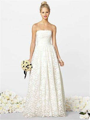 After Six Wedding Dresses Style 1037 from The Dessy Group