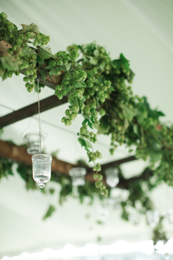 Arbor With Hanging Votives