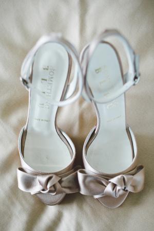 Blush Bridal Shoes