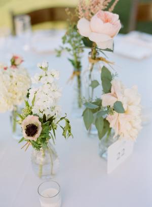 Blush Garden Flowers