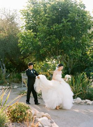 Botanic Garden Wedding California