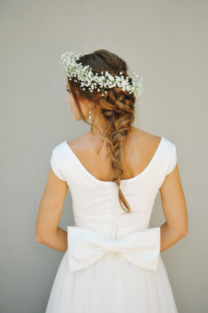Bow on Wedding Gown