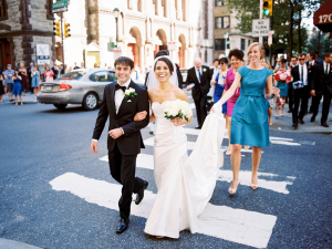 Bridal Party in Downtown Philly