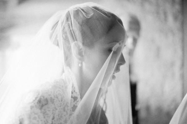 Bride in Classic Veil