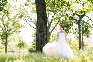 Bride in Lincoln Park