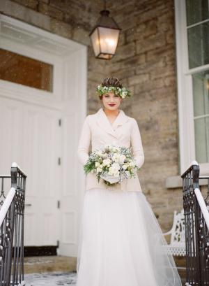 Bride in Snow