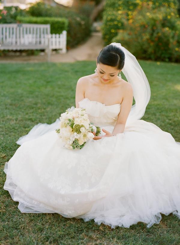 Bride in Vera Wang1