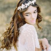 Bride with Wavy Hair