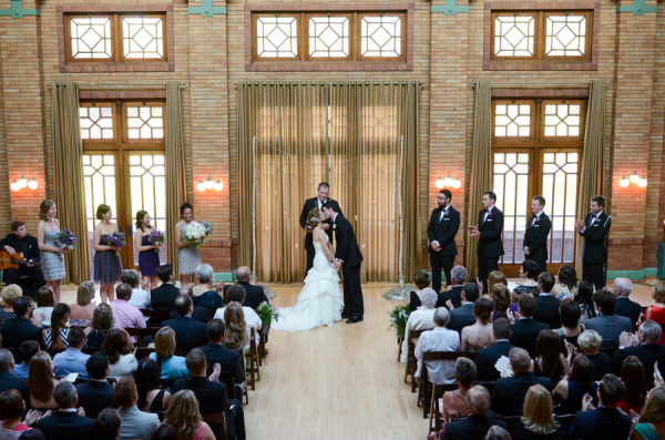 Ceremony at Cafe Brauer