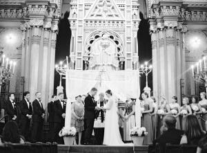 Cincinnati Cathedral Wedding