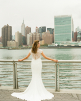 Classic Column Style Bridal Gown