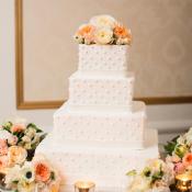 Classic Square Wedding Cake