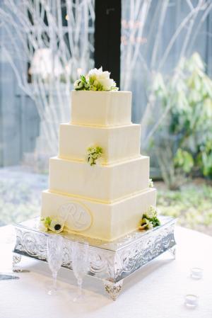 Classic Square Wedding Cake1