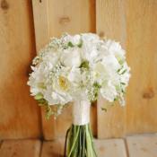 Classic White Bridal Bouquet1