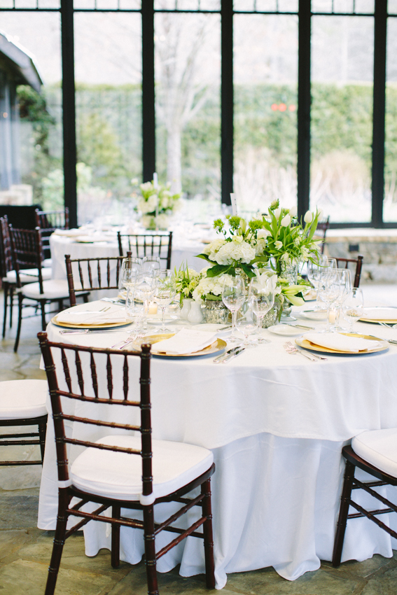 Classic White Reception Decor