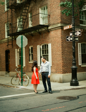 Couple in West Village