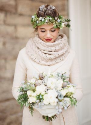 Cozy Winter Bride