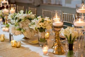 Cream Hydrangea and Calla Lily Florals