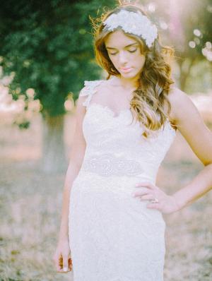 Crystal Dress Sash